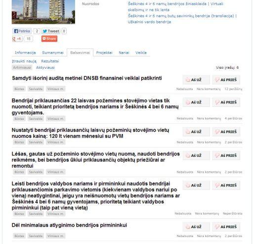 Štai taip galima dirbti naujame superiniame portale Lietuva 2.0