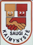 Saugio skaimynystės logo