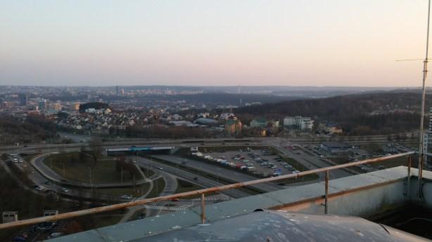 Vilniaus centras tolumoje