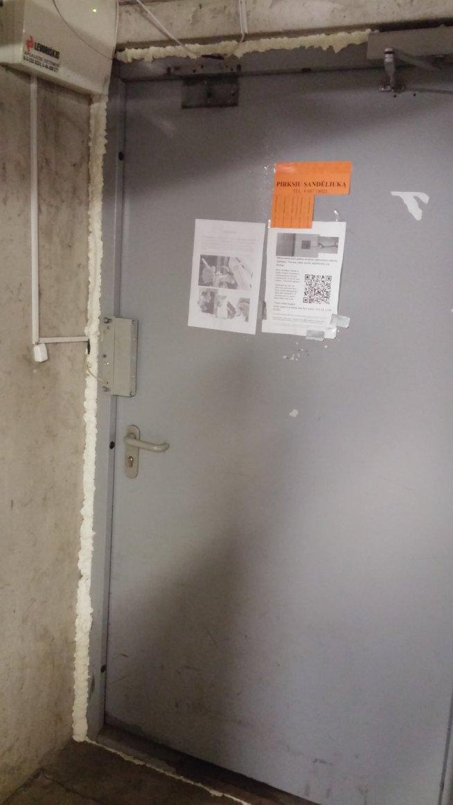 Durys po patvarkymų.